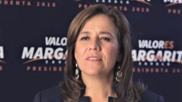 Entrega al INE Margarita Zavala su renuncia a la candidatura presidencial