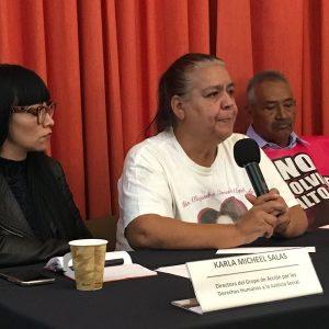 Familiares de víctimas desmienten a Corral sobre presunto esclarecimiento de feminicidio