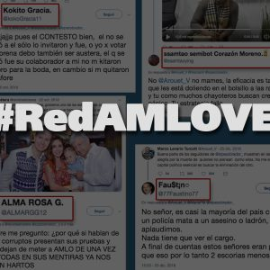 Ojo @TwitterSeguro: Estos son los bots y troles de la #RedAMLOVE que atacan a @revistaetcetera y @Arouet_V por cuestionar a su líder