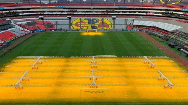 Cancha del Estadio Azteca implementará nueva tecnología
