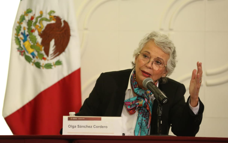 Sánchez Cordero: no es misoginia de Gabinete de Seguridad sino mi hipersensibilidad feminista